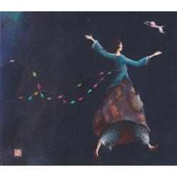 Carte Gaëlle Boissonnard 2019 - Promenade céleste - 14x16 cm. Réf: 15546