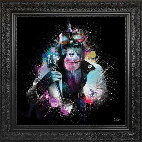Tableau de Sylvain Binet - Punks no dead - 68x68 cm