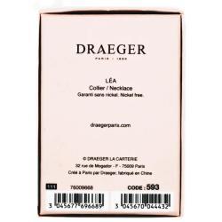 Collier pendentif prénom LEA - 42 cm env réglable
