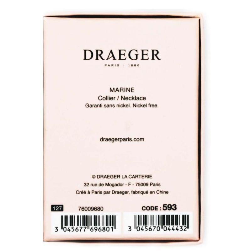 collier prenom marine