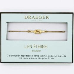 Bracelet motif MARIN - 14 cm environ réglable