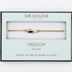Bracelet motif AILE - 14 cm environ réglable
