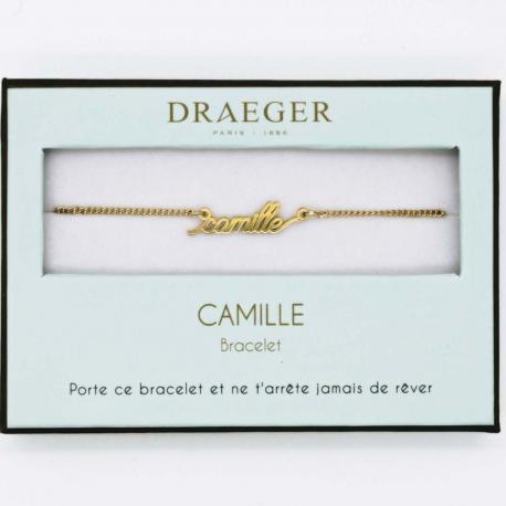 Bracelet prénom CAMILLE - 14 cm environ réglable