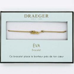 Bracelet prénom personnalisé EVA - 14 cm environ réglable