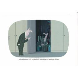 Carte humour Voutch - Une manager-attitude - V 10.5x15 cm