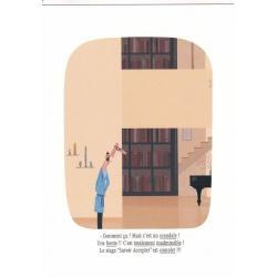 Carte humour Voutch - Savoir accepter - V 10.5x15 cm