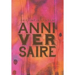 Carte citation - Joyeux et heureux anniversaire... - Artiste Amy Sia AS15 - 12x17cm