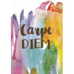 Carte citation - Carpe Diem... - Artiste Amy Sia AS6- 12x17cm