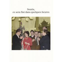 Carte humour Noël de Cath Tate - Souris, ce sera fini dans... - 10.5x15 cm