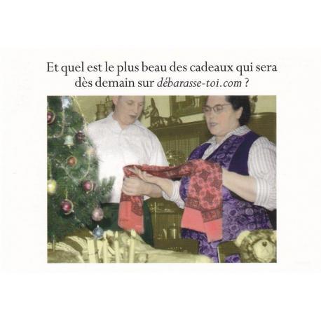 Carte humour Noël de Cath Tate - Et quel est le plus beau des cadeaux.. - 10.5x15 cm