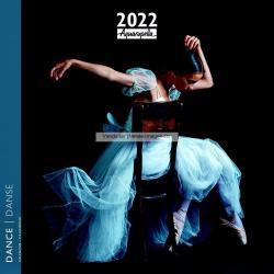 Calendrier Danse 2022 - Harmonie - 30x30 cm - Expédition le jour même.