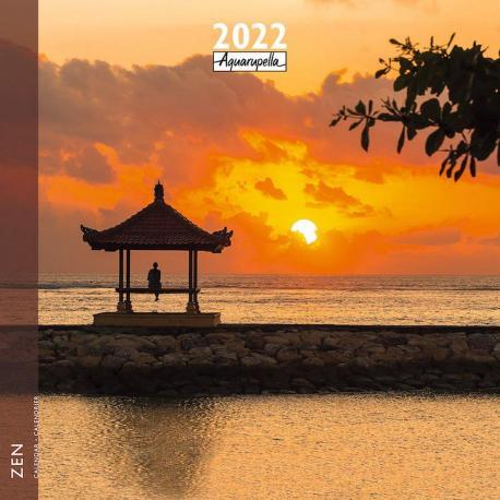 Calendrier Zen 2022 - Ampleur - 30x30 cm - Expédition le jour même.