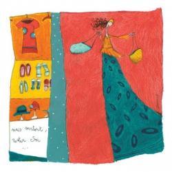 """Carte Anne-Sophie Rutsaert """"Mais surtout, rester soi..."""" 14x14 cm"""