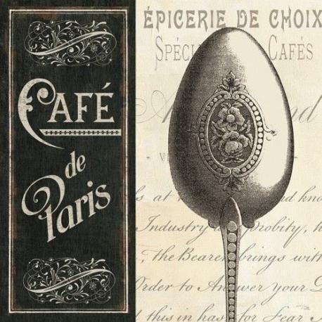 Carte Pela Studio - French menu I - 14x14 cm
