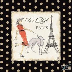 Carte Avery Tillmon - Ladies in Paris II - 14x14 cm