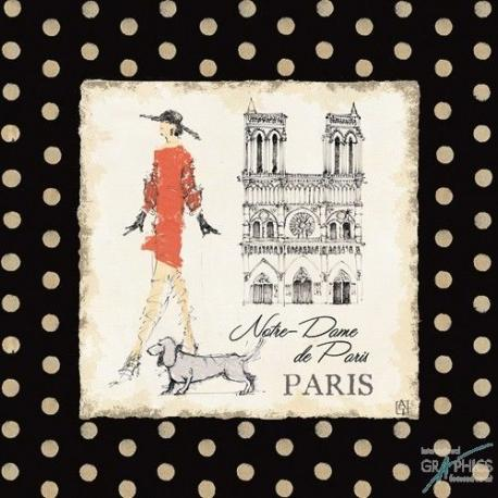 Carte Avery Tillmon - Ladies in Paris IV - 14x14 cm