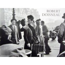 Le Baiser de l'Hôtel de Ville - Doisneau - Affiche 60x80 cm