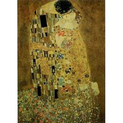 "Affiche Gustav Klimt ""The Kiss"" 70x100 cm"