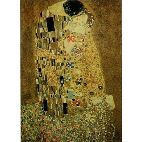"""Affiche Gustav Klimt """"The Kiss"""" 70x100 cm"""