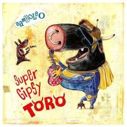 Carte Olivier Daumas - Super gipsy toro - 14x14 cm