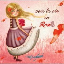 Carte Amélie Thiebaud - Voir la vie - 14x14 cm