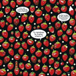 "Calendrier collector 2014 Lali ""Tu ramènes ta fraise cherry ?"" 16x16 cm"