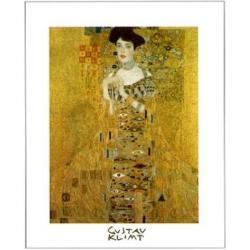 Affiche Gustav Klimt - Portrait Adèle Bloch 2 - 24x30 cm