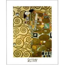 Affiche Gustav Klimt - Le Baiser II - 24x30 cm