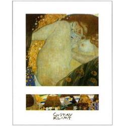 Affiche Gustav Klimt - Danaé - 24x30 cm