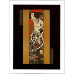 """Affiche Gustav Klimt """"Judith"""" 60x80 cm"""