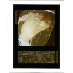 "Affiche Gustav Klimt ""Danaé"" 60x80 cm"