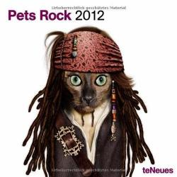 Calendrier collector Pets Rock 2012 Format 30x30 cm