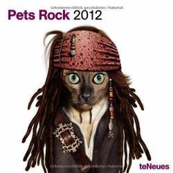Calendrier Pets Rock 2012 Format 30x30 cm