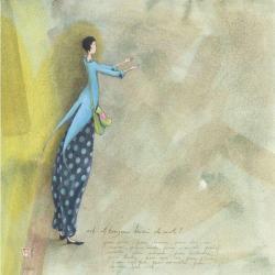 Carte Gaëlle Boissonnard - Est il toujours besoin de mots ? - 14x14 cm