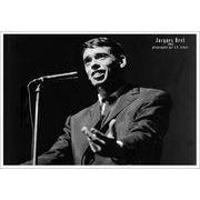 Affiche Jacques Brel - Concert - 50x70 cm