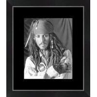 Affiche encadrée Pirates des Caraïbes - 24x30 cm (Cadre Tucson)