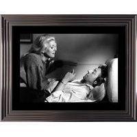 Affiche encadrée Noir et Blanc: Je vous aime - Deneuve Gainbourg - 50x70 cm (Cadre Tucson)