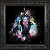 Tableau de Sylvain Binet - Punks no dead - 84 x 84 cm
