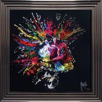 Tableau de Patrice Murciano - New Future - 84x84 cm