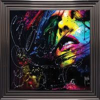 Tableau de Patrice Murciano - Caliente - 84 x 84 cm