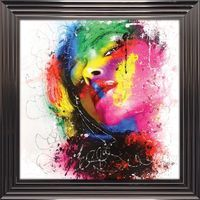 Tableau de Patrice Murciano - Bella Reggazza - 84 x 84 cm