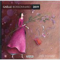 Calendrier 2019 Gaëlle Boissonnard - Cueillette géante - 30x30 cm