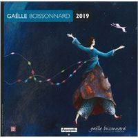 Calendrier 2019 Gaëlle Boissonnard - Promenade spatiale - 30x30 cm