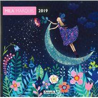 Calendrier 2019 Mila Marquis - Promenade céleste - 30x30 cm