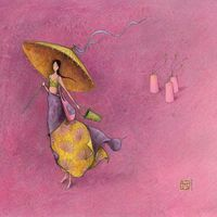 Calendrier 2020 Gaëlle Boissonnard - L'ombrelle - 16x16 cm