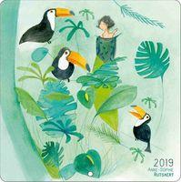Calendrier Anne-Sophie Rutsaert 2019 - Etre aimée - 30x30 cm