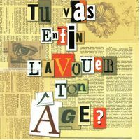 Carte anniversaire Avouer ton âge - Collection Caractère - CAR005 - 14.5x14.5 cm