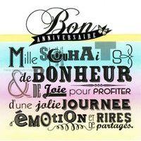 Carte anniversaire jolie journée - Collection Caractère - CAR012 - 14.5x14.5 cm