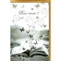 Carte Very Chic - Douce retraite - 12x17 cm